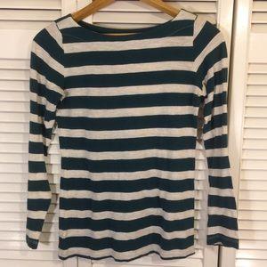 LOFT Striped Long Sleeve T-Shirt